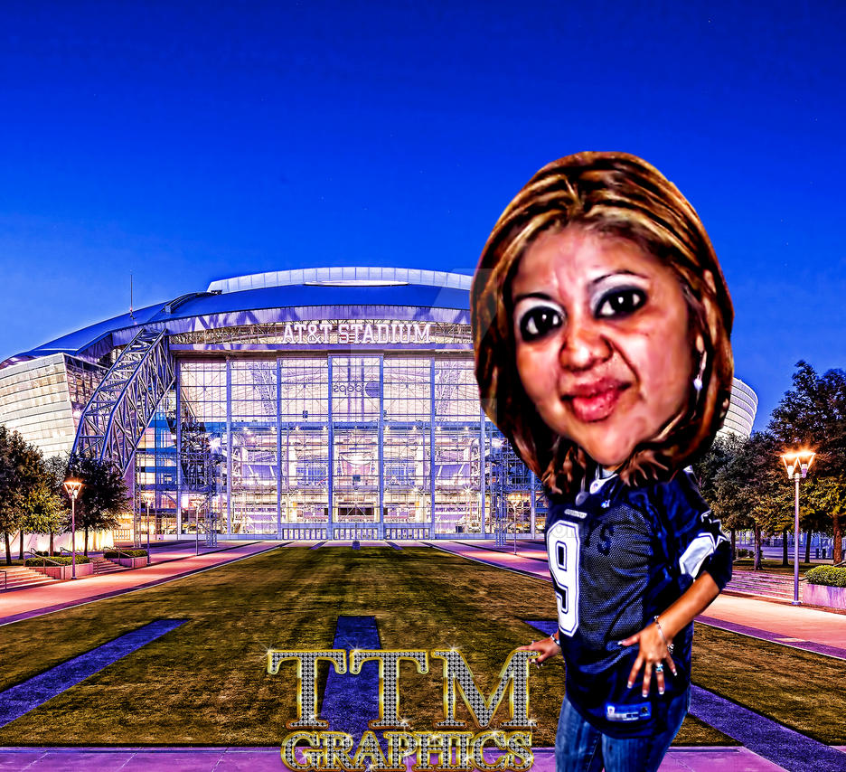 Tamaira At The Stadium by tmarried