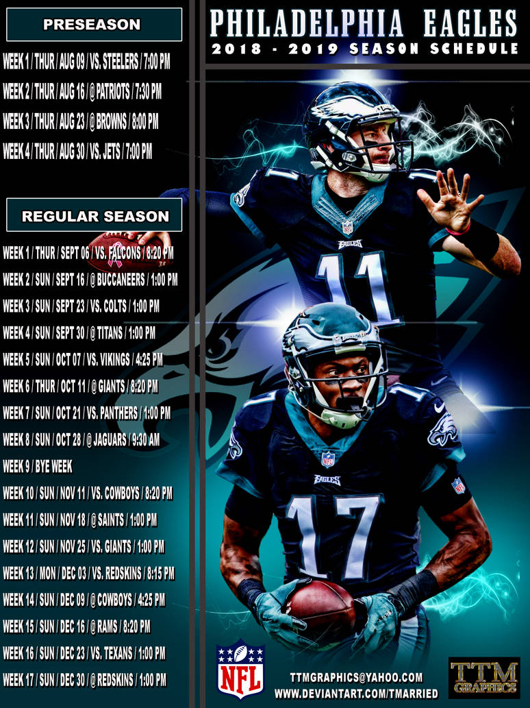 Amazing image within printable eagles schedule