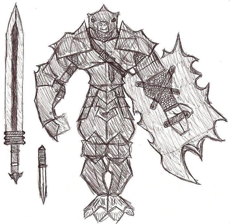 Troll Armor by SamwiseTheAwesome
