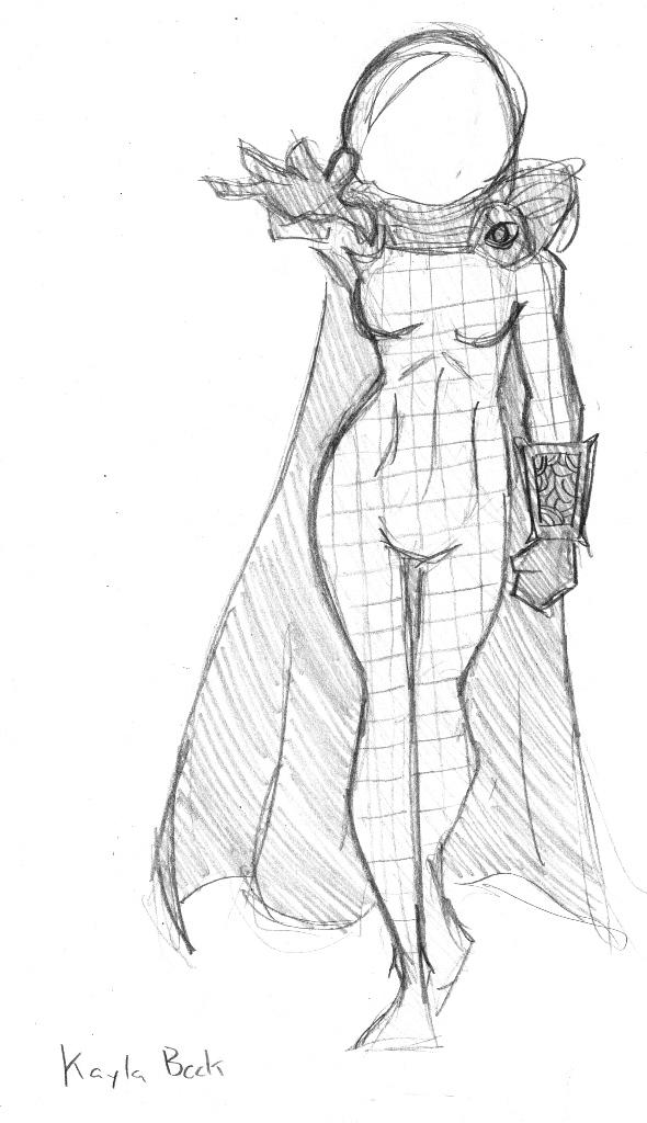 Mysterio Fem by SamwiseTheAwesome