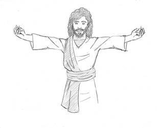 Jesus Loves You by SamwiseTheAwesome