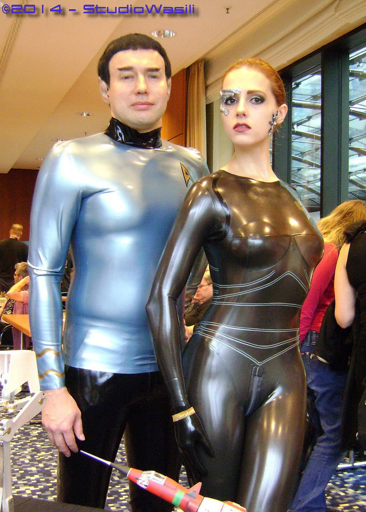 Latex fantasy wear