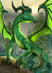 Green Dragon Dragonvault Card