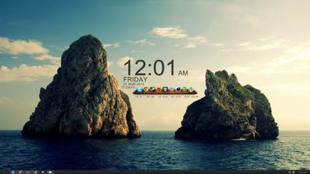 Pixie's New Desktop by PixelVandalism