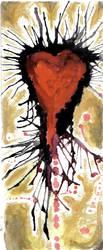 Corazon sangrado by Wlf89