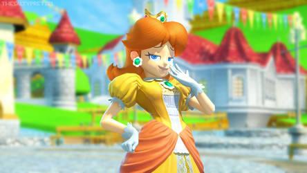 Daisy - Super Smash Bros. Ultimate by NeoPretzel