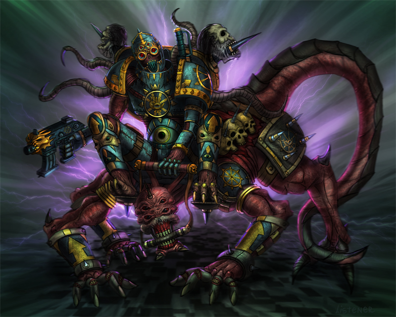 Chaos Space Marines on Warhammer-Librarium - DeviantArt