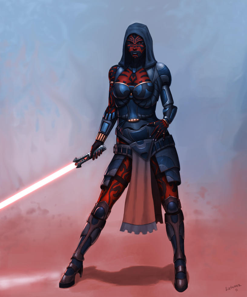 Sith Female by ListenerKz