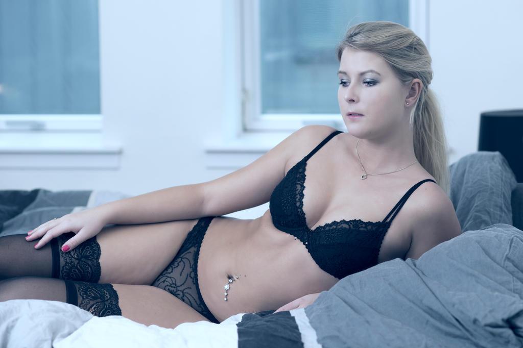 Lingerie In Bed 10