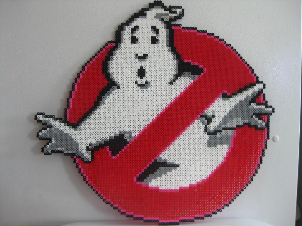 Perler Beads Ghostbusters Dibujos Para Colorear