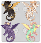 Little Dragons Set Price - CLOSED