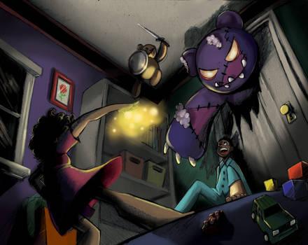 Bear in the Closet by Dari-Dari