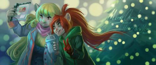 [BP] Sally, Arty, and Christmas Tree
