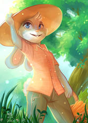 [Fanart] Zootopia: Carrot Farmer