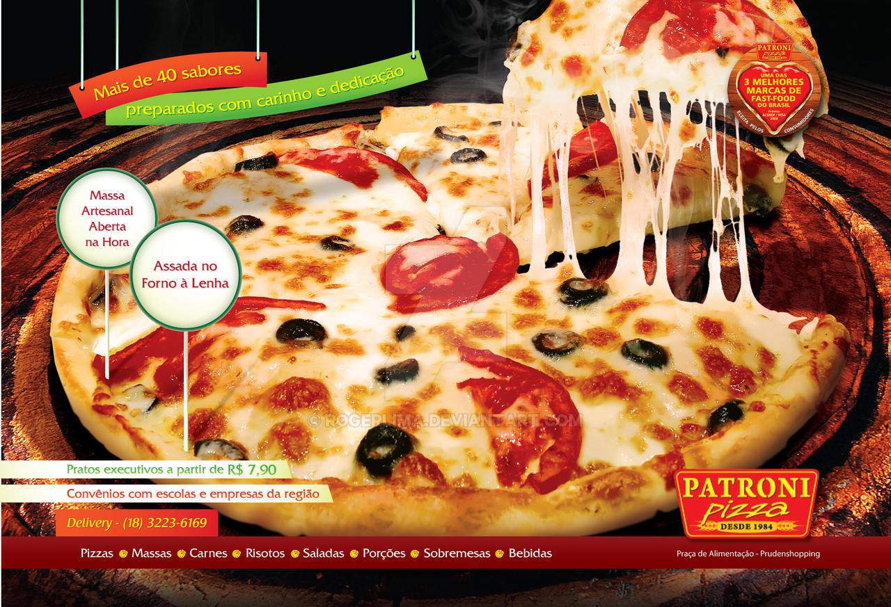 Patroni Pizza Ad by RogerLima on DeviantArt