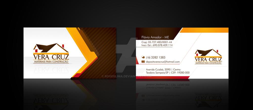 Vera Cruz Business Card by RogerLima