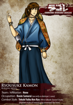 SDL: Ryousuke Kamon by BurningArtist
