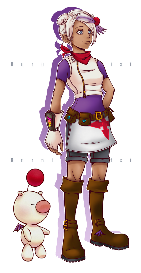 KHOC: Moogle Girl by BurningArtist