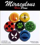 Buttons: Miraculous Set