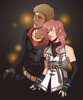 Commission: John and Lightning