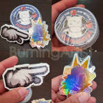 FF: Stickers by BurningArtist