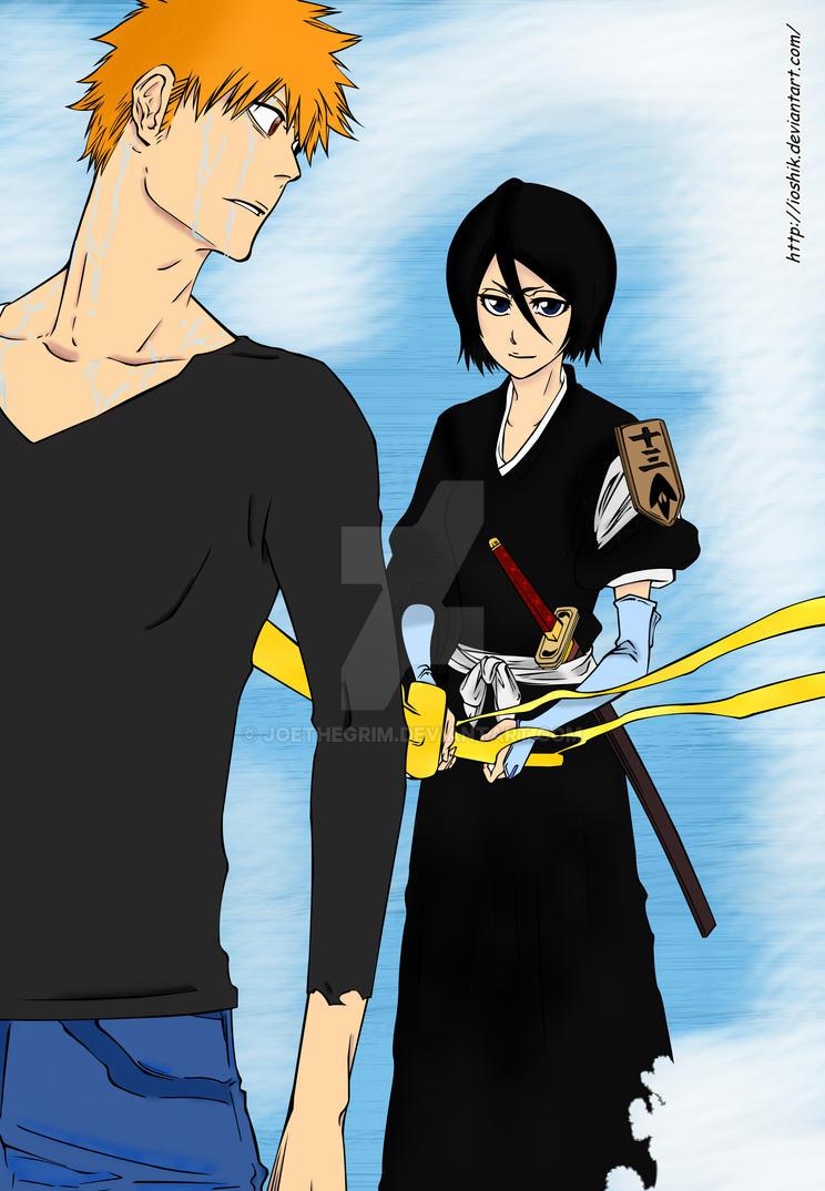 Rukia is back by JoetheGrim