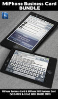 MiPhone Business Card BUNDLE