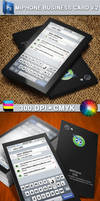iPhone Business Card V.2 by CaCaDoo