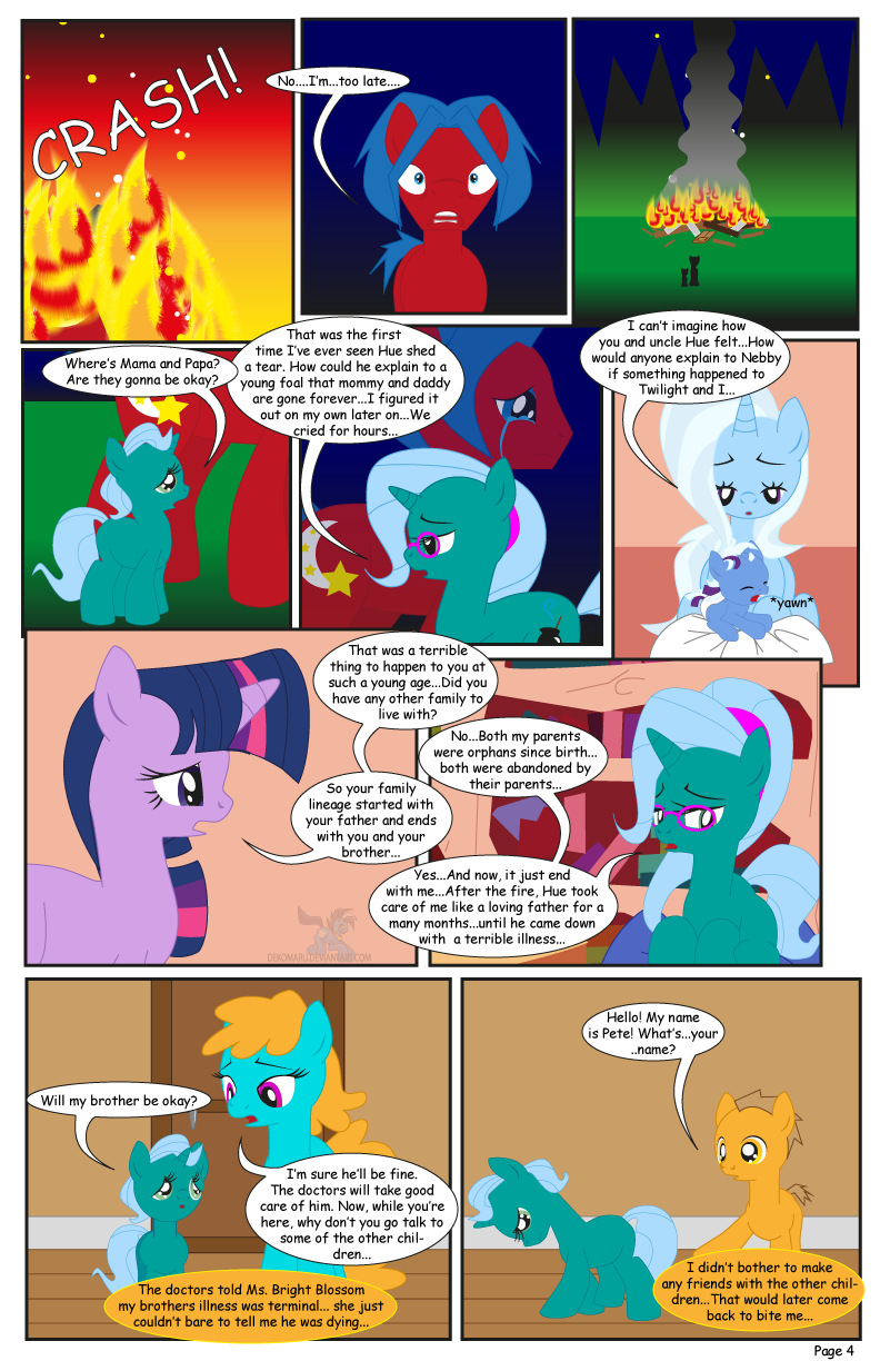 The Greatest Gift: Lulamoon Sonata-Page 4 by Dekomaru