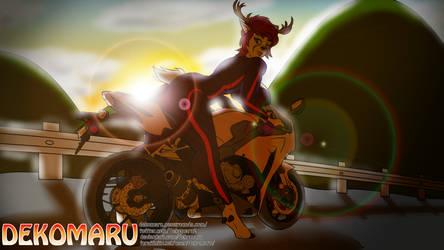 Biker Libby Doe by Dekomaru
