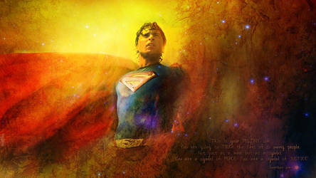 My Tom Welling Superman Manip