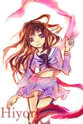 hiyori from noragami - comission