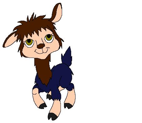 Me as a Llama by heart8822