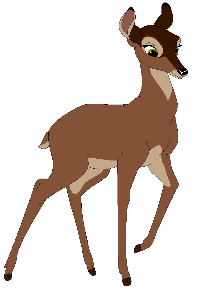 Me as a deer by heart8822