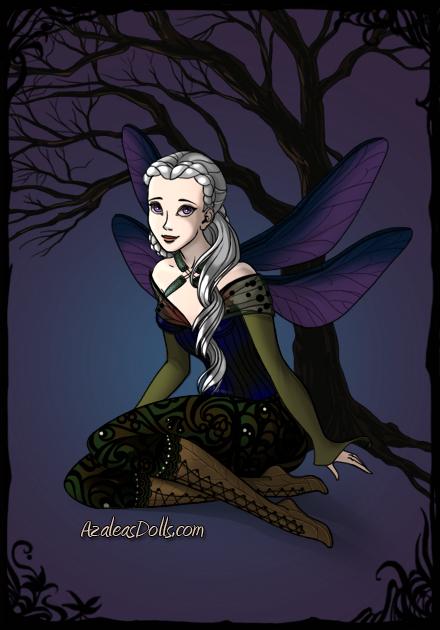 Farith as a dark fairy by heart8822