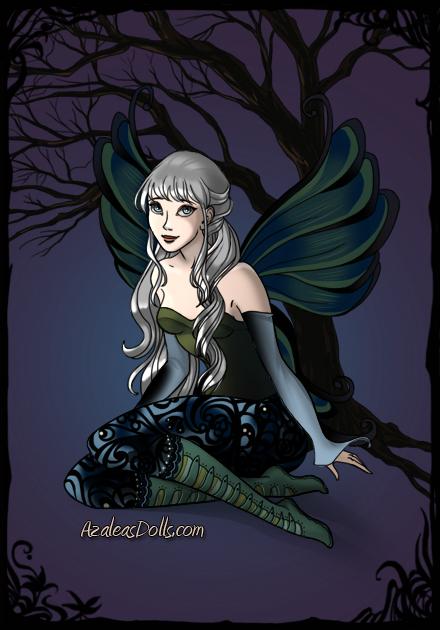 Sacia as a dark fairy by heart8822