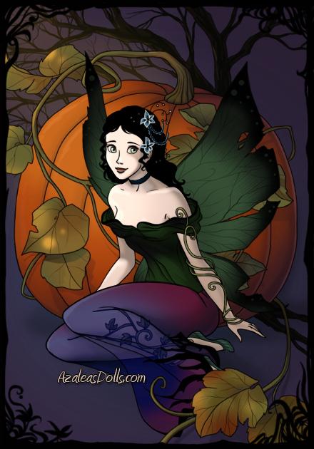 Breena as a dark fairy by heart8822