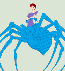 Nora's spider like look by heart8822