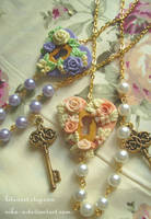 Maiden Garden necklace II by Nika-N