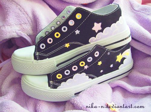 Shooting Star Sneakers II by Nika-N