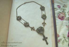Royal Rose necklace I by Nika-N