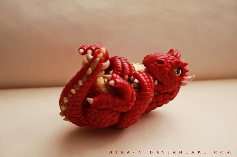 Baby Smaug by Nika-N