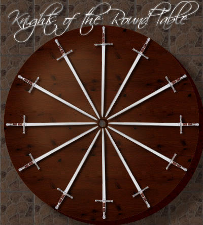 Knights Of The Round Table By DyanneNova On DeviantArt