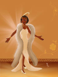 Tiana (The Princess and the Frog) by Sunny-YunHe