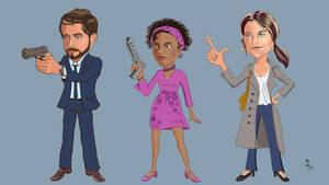 Kieran, Madison and Alexa