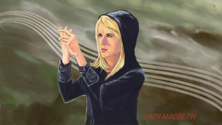 Renee O'Connor as Lady Macbeth