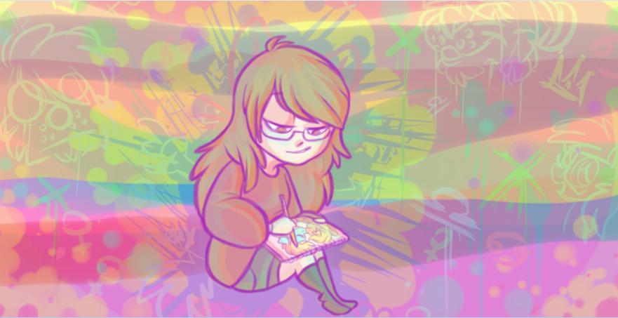 me drawing by Ari-Cat1998