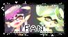 Squid Sisters FAN Stamp Splatoon