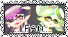 Squid Sisters FAN Stamp Splatoon by SuperCrazyHyena
