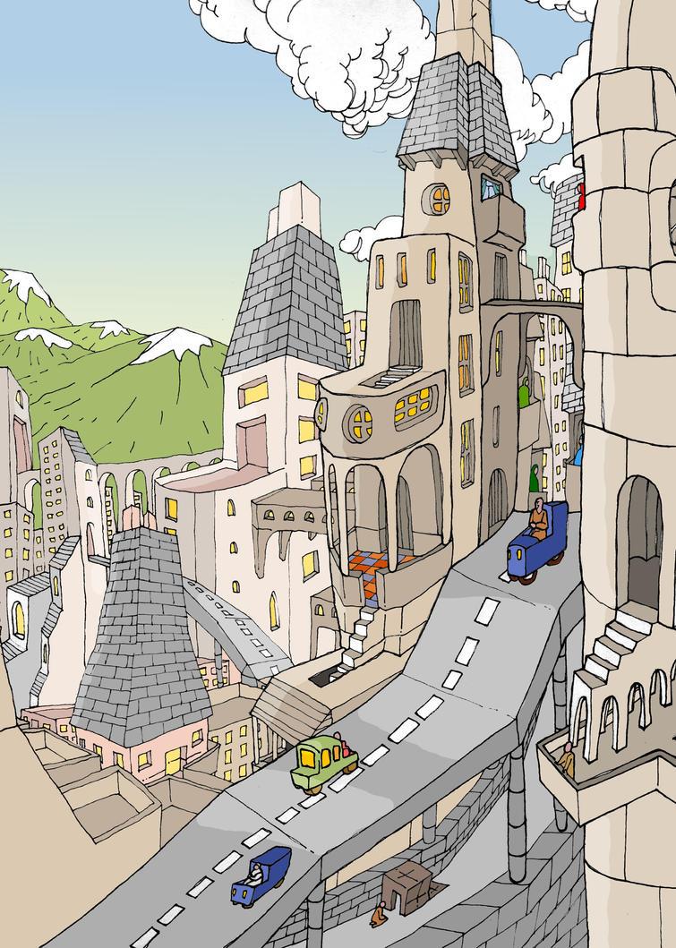 La ville by mdelpeix